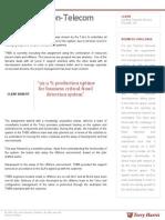 Fraud Detection Telecom | Torry Harris Case Study