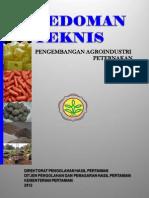 Pedoman Teknis Pengembangan Agroindustri Peternakan Kementerian Pertanian