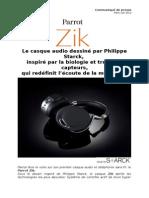 Parrot Zik DesignByStarck (FR)