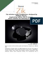 Parrot Zik DesignByStarck (US)