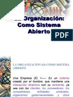 5. La Organizacin Como Sistema Abieto