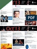 Agenda Cultura Oct Del 3 Al 6