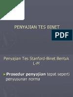 Administrasi Tes Binet