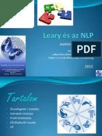 Leary és az NLP kapcsolata