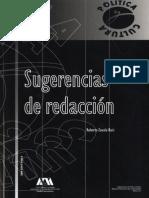 SUGERENCIAS DE REDACCIÓN