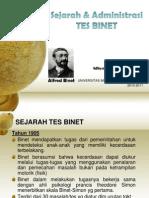 Sejarah  Tes Intelegensi Binet1