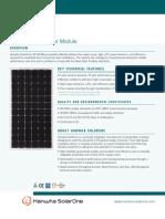 Hanwha SolarOne's SF160 Monocrystalline.pdf
