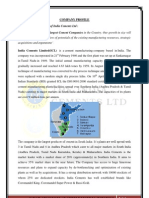 Project Final - India Cements