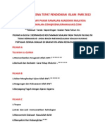 108022541 Tips Terakhir Pendidikan Islam Pmr 2012