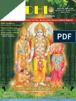 Siddhi Times July 2009-Dr. Commander Selvam