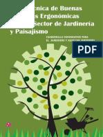 Manual de Buenas Practicas Ergonomicas Para El Sector de La Jardineria y El Paisajismo