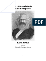 O 18 Brumário de Luis Bonaparte - Karl Marx