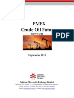 PMEX Crude Oil Report