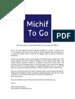Michif to Go
