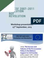 """PPP """"IPA CSF 2007-2011"""