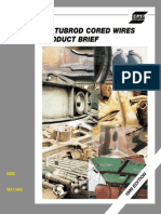 Cored Wires - ESAB - OK Tubrod