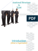 Organisational Structure & total quality management