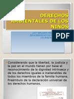 DERECHOS AMBIENTALES DE LOS NIÑOS