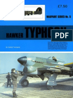 (Warpaint Series No.5) Hawker Typhoon