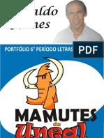 PORTFÓLIO - MICROENSINO DE LÍNGUA PORTUGUESA