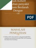 Studi Kohort Kejadian Penyakit Demam Berdarah Dengue