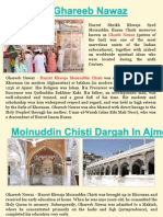 Moinuddin Chisti Dargah In Ajmer