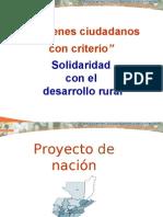 como hacer el proyecto de nacion