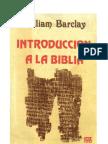 17116971 William Barclay Introduccion a La Biblia