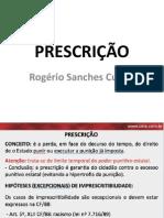 PRESCRIÇÃO ROGÉRIO SANCHES CUNHA