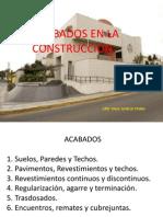 Presentación  ACABADOS