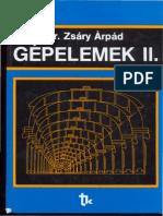 Zsáry Árpád. Gépelemek_II
