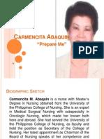 Carmencita Abaquincarmility