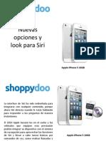 Shoppydoo Siri iPhone