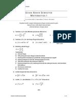 Soal-UAS-Matematika-I-2010
