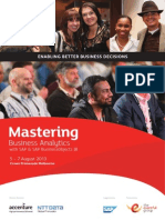 Mastering Business Analytics 2013