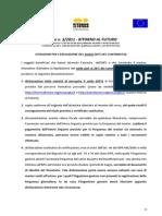 Istruzioni Per l'Erogazione Del Saldo (20% Del Contributo)