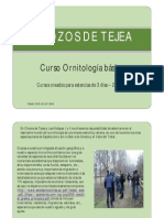 Iniciacion a La Ornitologia en Gredos