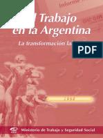 El Trabajo en Argentina Articulo MENEM