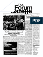 The Forum Gazette Vol. 1 No. 8 September 16-30, 1986