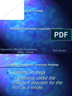 Report in Business Policy and Strategy (Mitch)