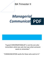 1-Managerial Communication Intro