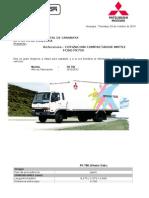Cotizacion Fk 750 Compact 8m3 Euro III