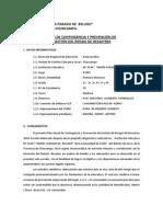 PLAN DE CONTINGENCIA Y PREVENCIÓN DE RIESGOS