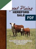 Great Plains Catalog 2013