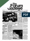 The Forum Gazette Vol. 1 No. 9 October 1-15, 1986