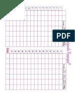 Finanças tabela