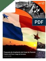 Propuesta de Ampliacion del Canal de Panamá