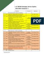 ISE 468 Teaching Plan