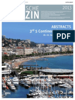 Abstracts from 5CC Cannes Conference