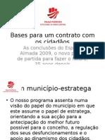 Bases para um contrato com os cidadãos